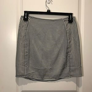 NWOT Tobi striped mini skirt